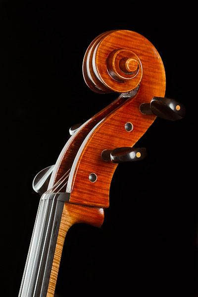 Schnecke des Modells Deutscher Musikinstrumentenpreis 2004